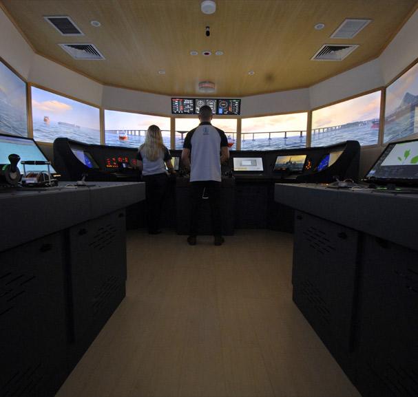 Simulador de Passadiço Full-Mission